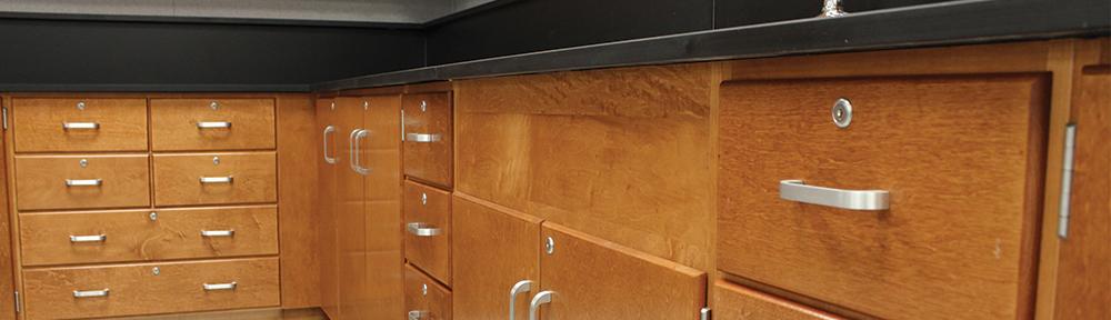 Wood Lab Casework