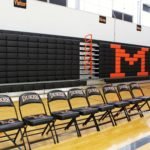 Hussey Seating Company Telescopic Bleachers